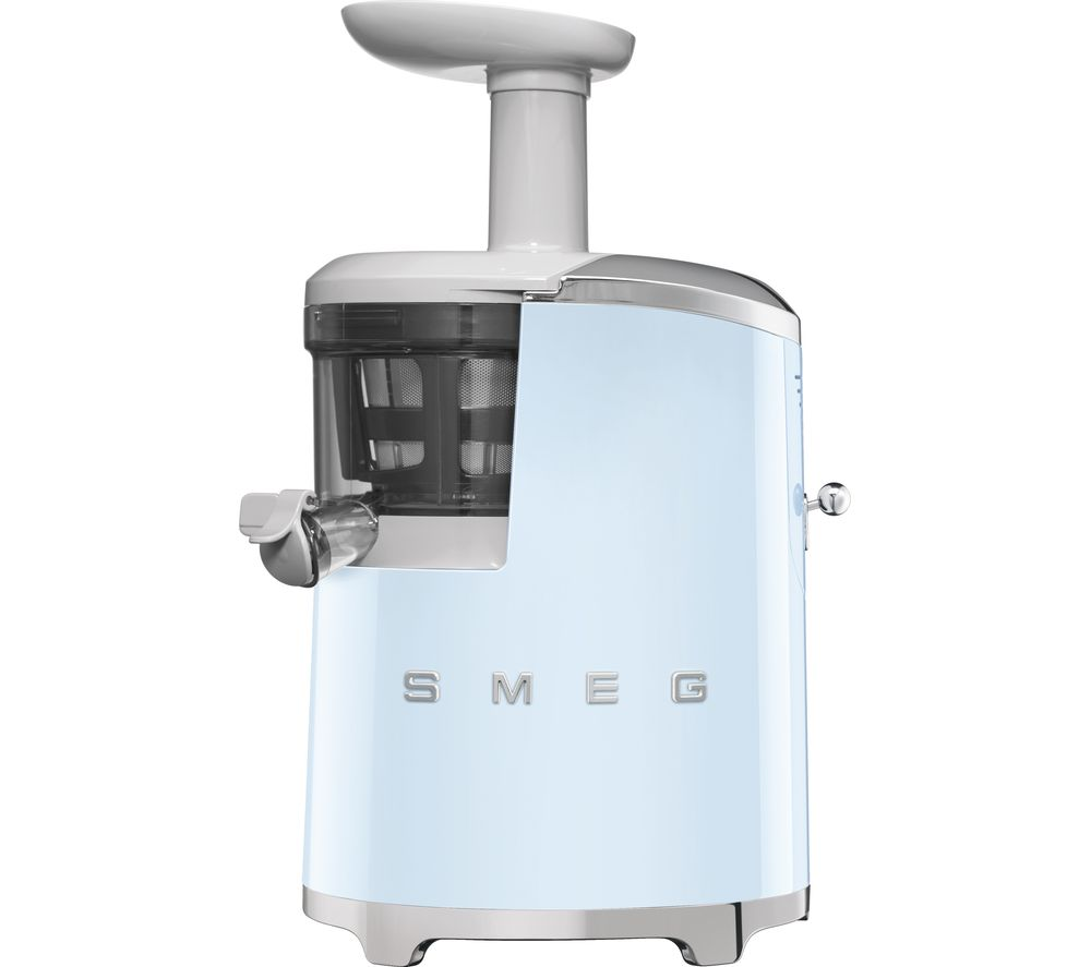 SMEG 50's Retro Style SJF01PBUK Juicer - Pastel Blue