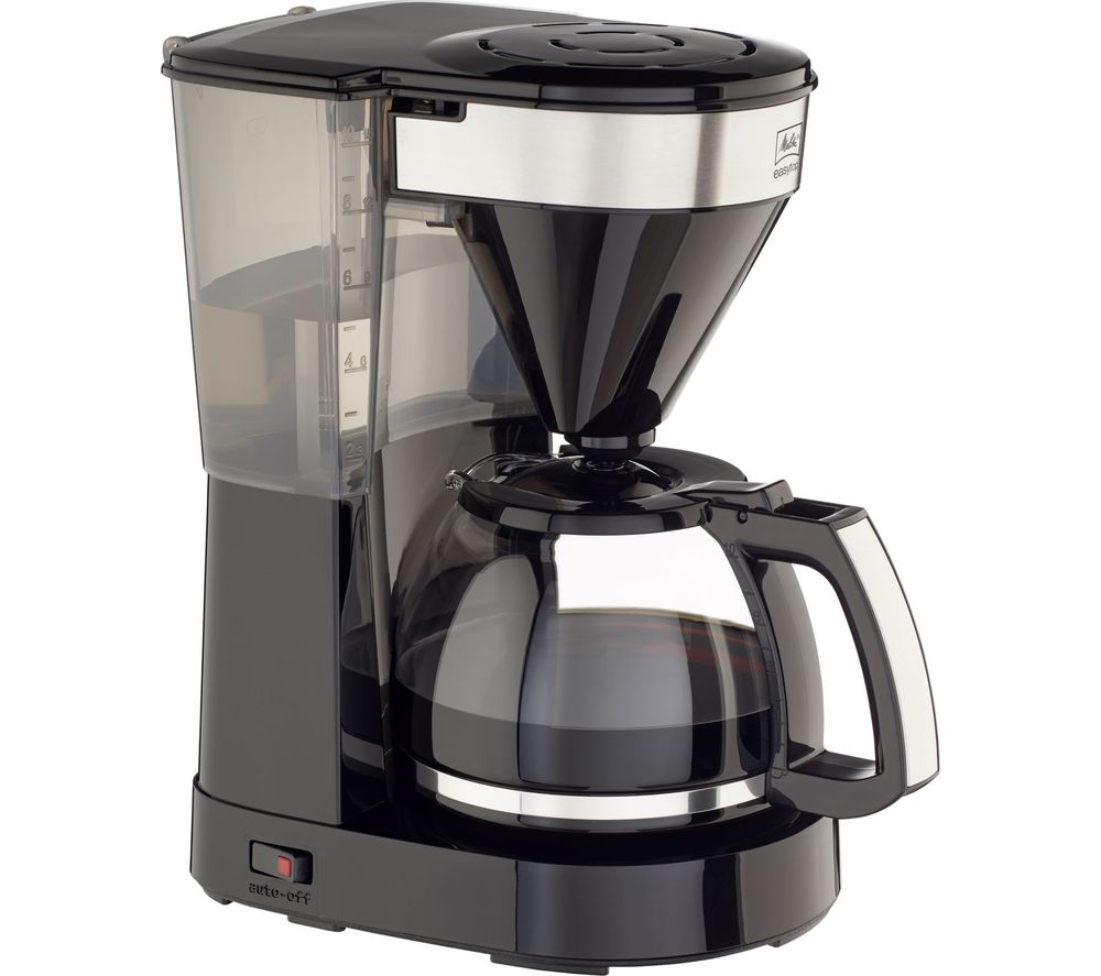 MELITTA Easy Top II Filter Coffee Machine - Black, Black