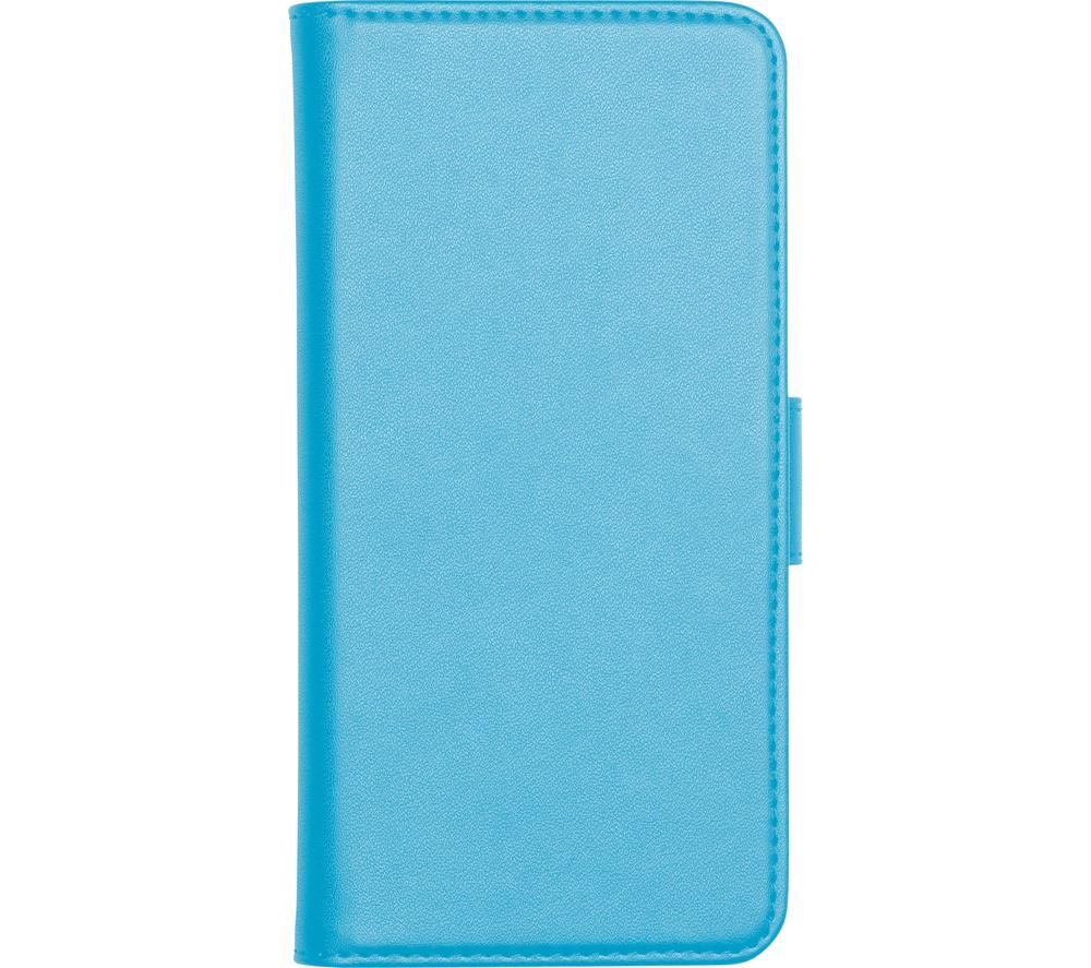 Image of Folio Galaxy A10 Case with Screen Protector - Blue, Blue
