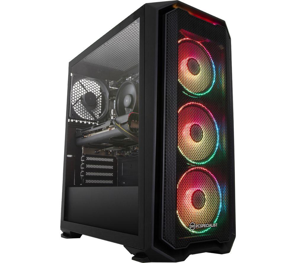 PC SPECIALIST Tornado R5 Gaming PC - AMD Ryzen 5, RX 5500 XT, 2 TB HDD & 256 GB SSD