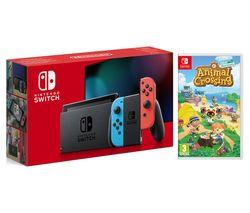 Switch Neon & Animal Crossing: New Horizons Bundle