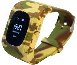 Intigo P1 Kids Smartwatch - Desert Camouflage, Rubber Strap