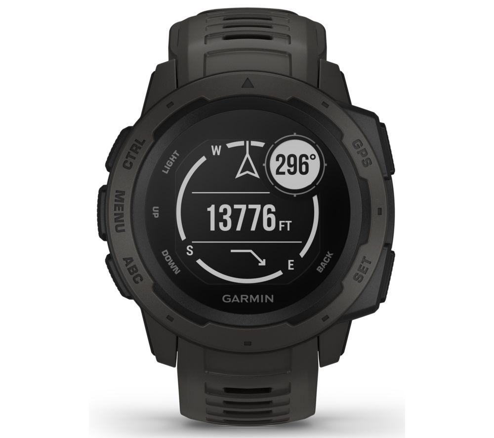 GARMIN Instinct Smartwatch - Black