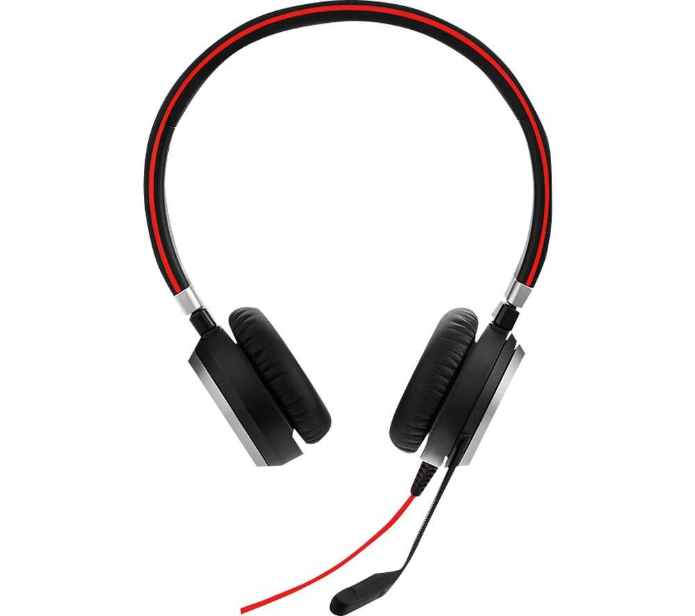 JABRA Evolve 40 UC Headset - Black