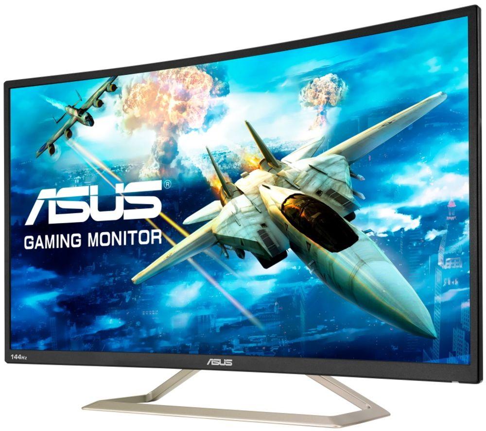 "ASUS VA326HR Full HD 32"" Curved LCD Gaming Monitor - Black"