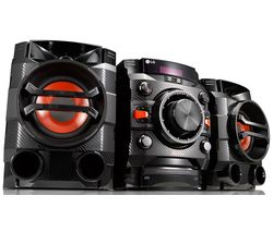 CM4360 XBOOM Bluetooth Megasound Party Hi-Fi System - Black