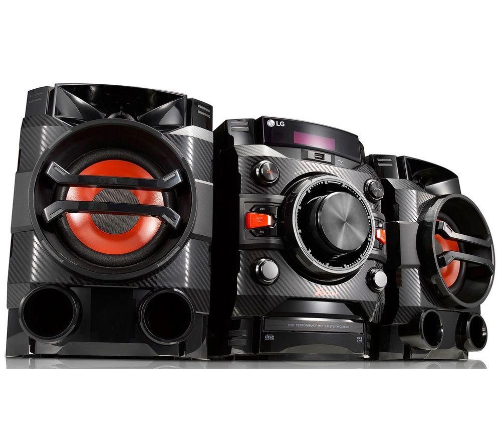 LG CM4360 XBOOM Bluetooth Megasound Party Hi-Fi System - Black
