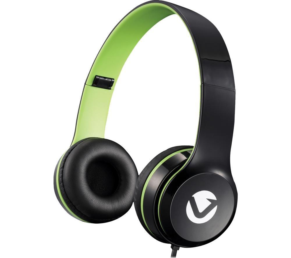 VOLKANO Nova Series VB-VH4032 Headphones - Green, Green