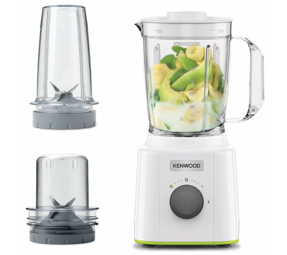 KENWOOD BLP31.D0WG Blend Xtract 3-in-1 Blender - White & Green