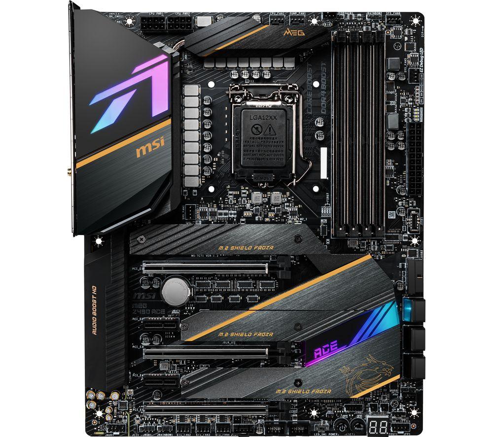 Image of MSI MEG Z490 ACE LGA1200 Motherboard