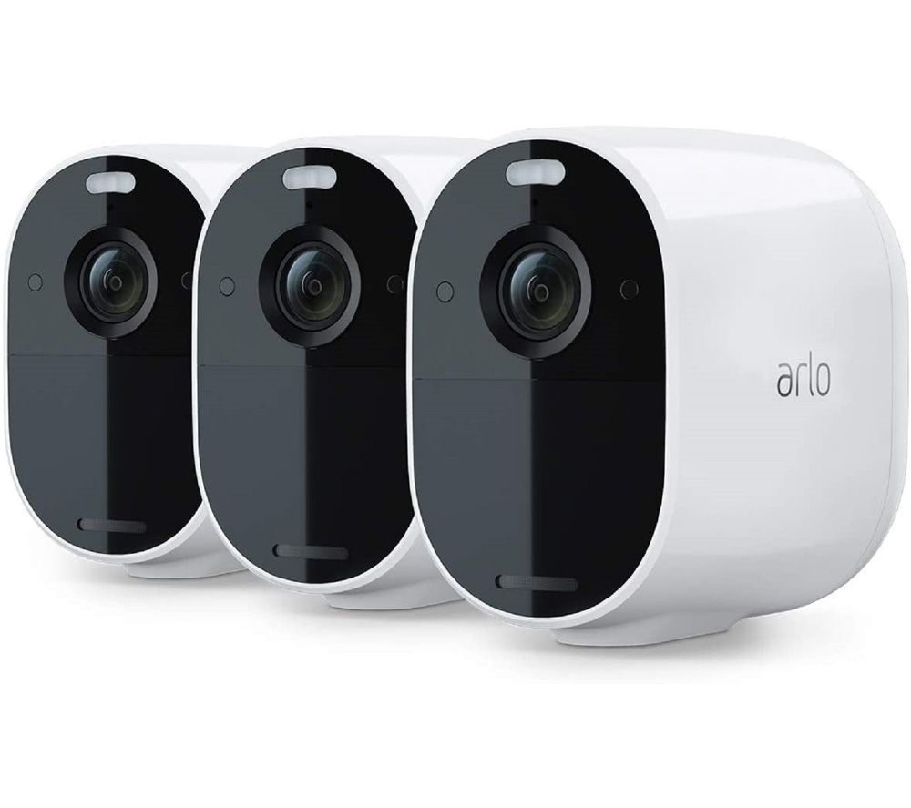 Image of ARLO Essential Spotlight VMC2330-100EUS Full HD WiFi Security Camera - Pack of 3