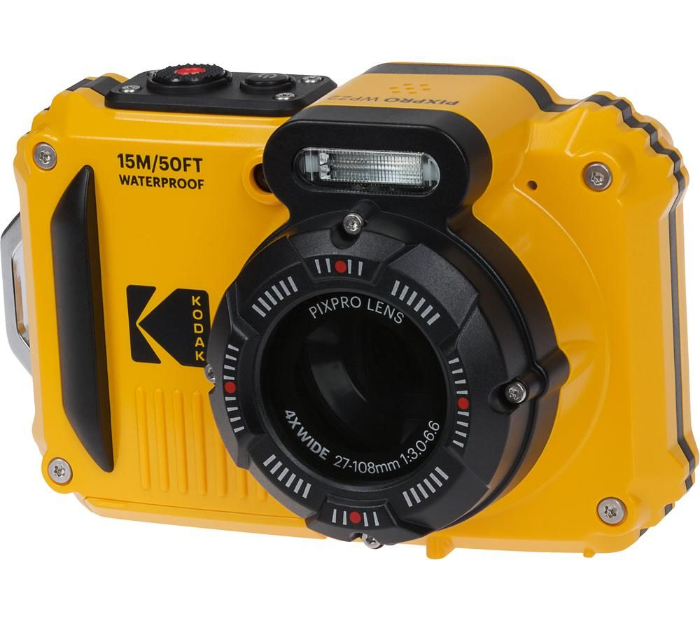 KODAK PIXPRO WPZ2 Tough Compact Camera - Yellow