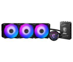 MAG CORELIQUID 360RH 360 mm Liquid CPU Cooler with Multi-function Hub - RGB LED