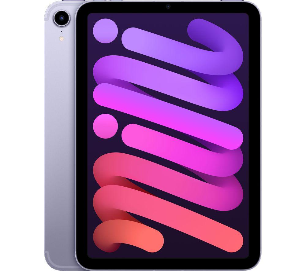 """APPLE 8.3"""" iPad mini Cellular (2021) - 64 GB, Purple"""
