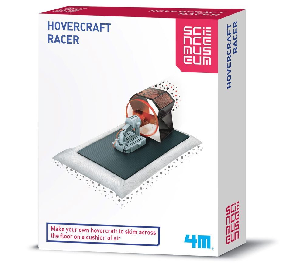 SCIENCE MUSEUM Hovercraft Racer Science Kit