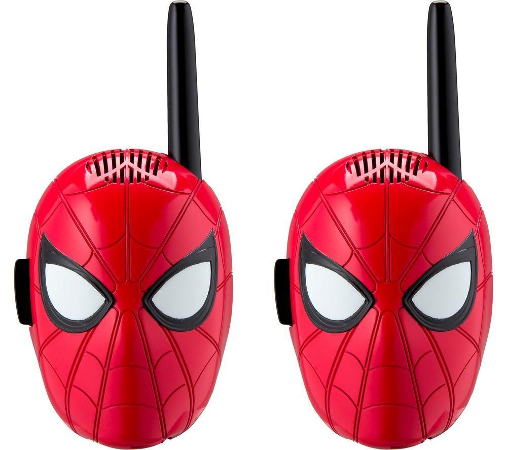 Ekids Spiderman Sm 202 Walkie Talkies Twin Pack