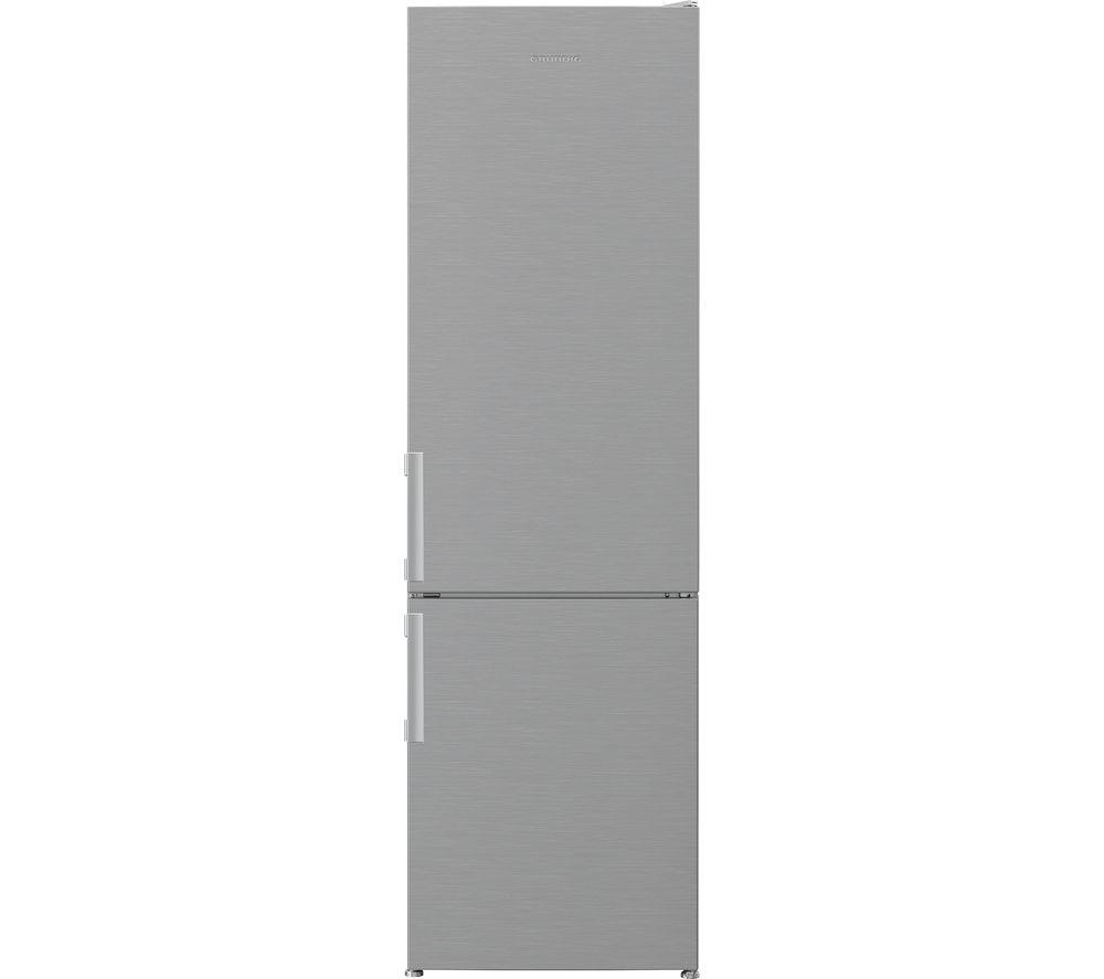 GRUNDIG GKF3581VPS 60/40 Fridge Freezer – Stainless Steel, Stainless Steel
