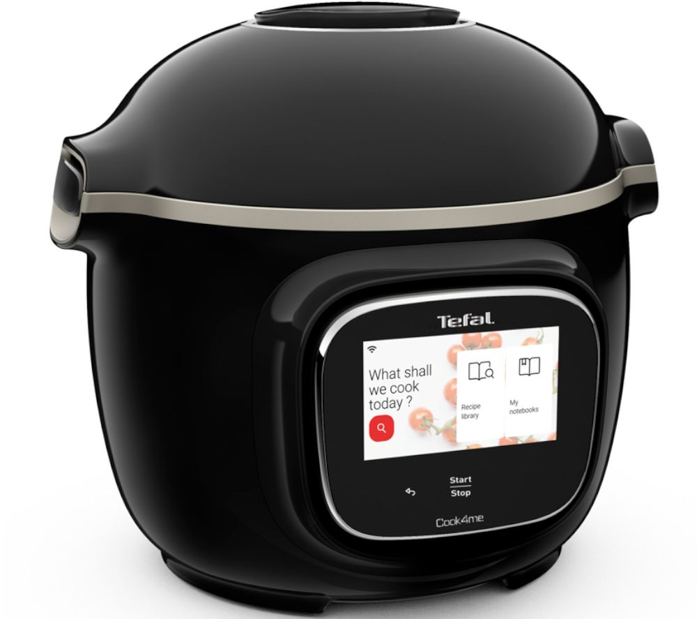 TEFAL Cook4me Touch CY912840 Smart Multicooker - Black