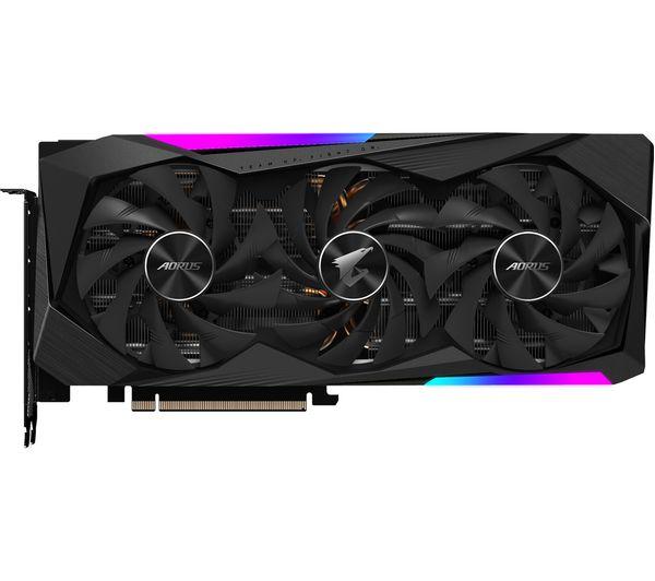 Image of GIGABYTE GeForce RTX 3070 8 GB AORUS MASTER V2 LHR Graphics Card