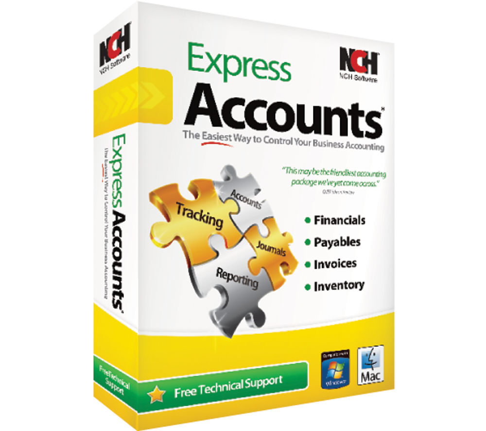 Compare retail prices of Nch Express Accounts to get the best deal online