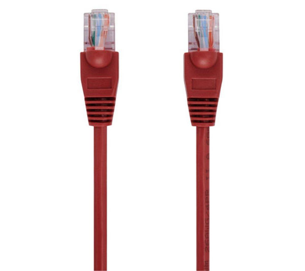 Image of ADVENT A5RED2M13 CAT5e Ethernet Cable - 2 m