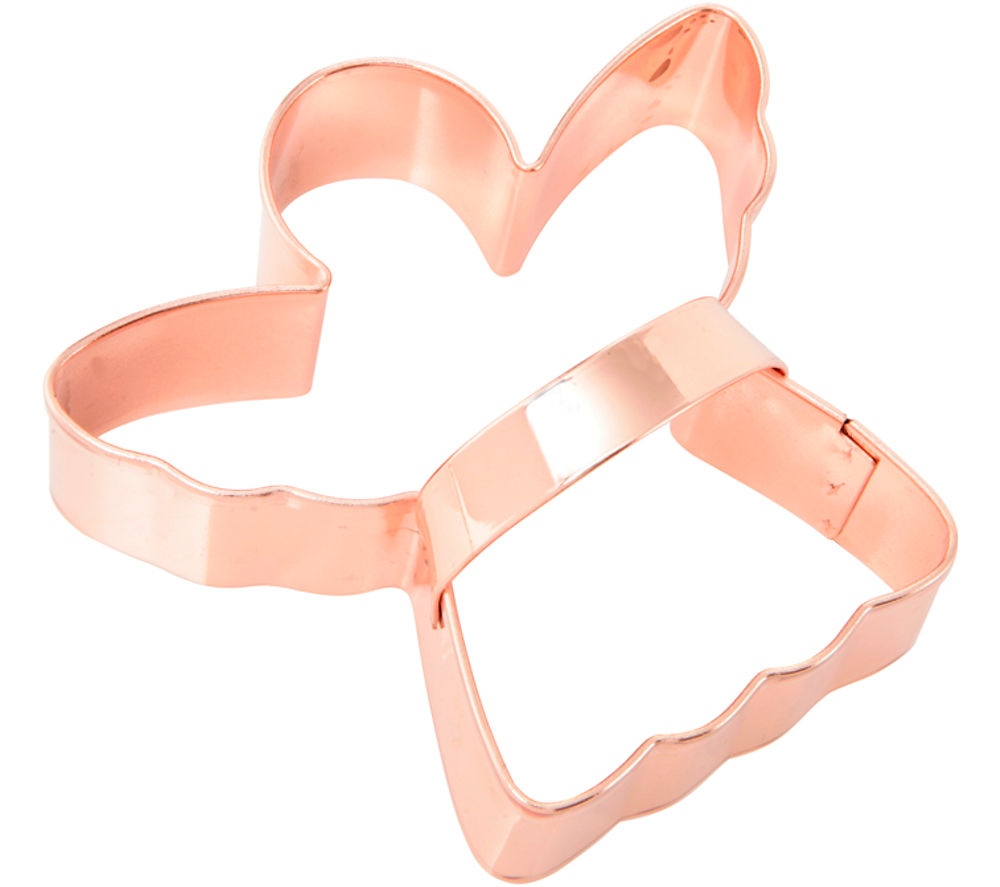 EDDINGTONS Angel Cookie Cutter - Copper