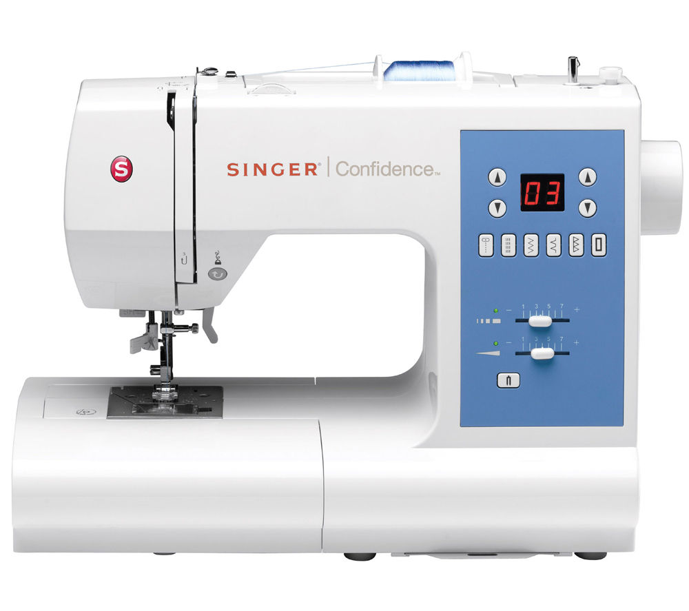 Image of SINGER 7465 Sewing Machine, Blue