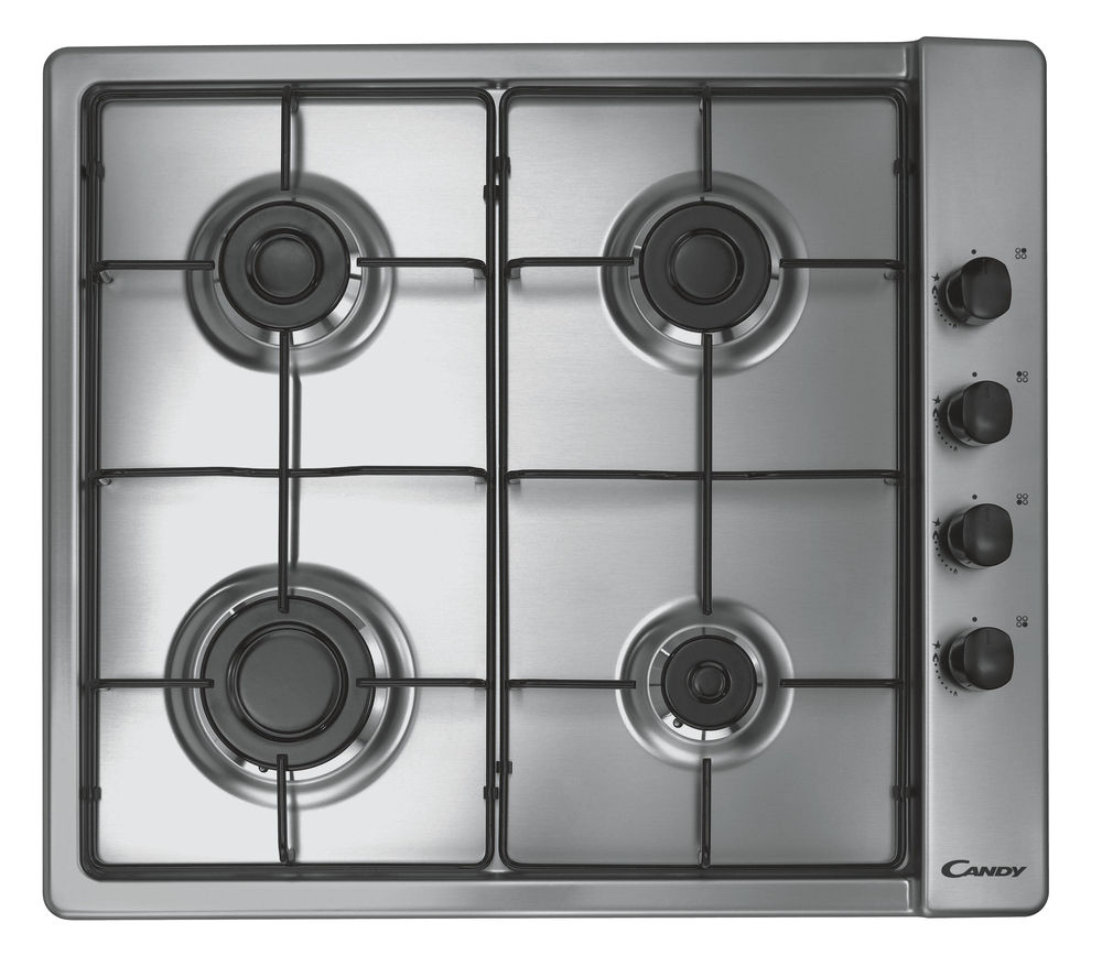 CANDY CLG64SPX Gas Hob - Stainless Steel