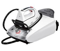 BOSCH TDS3872GB Steam Generator Iron - White & Silver