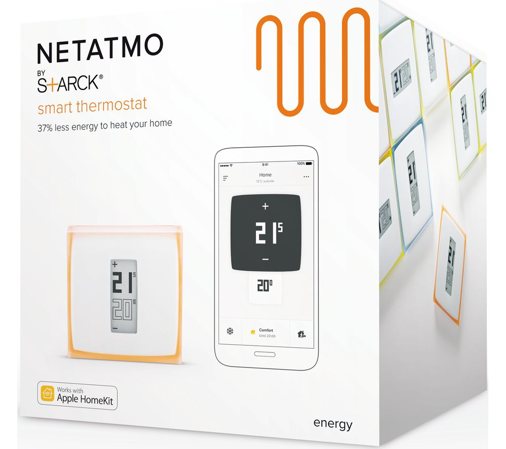 netatmo thermostat for smartphone with installation deals pc world. Black Bedroom Furniture Sets. Home Design Ideas