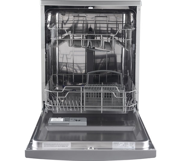 KENWOOD KDW60S16 Full-size Dishwasher Silver Currys