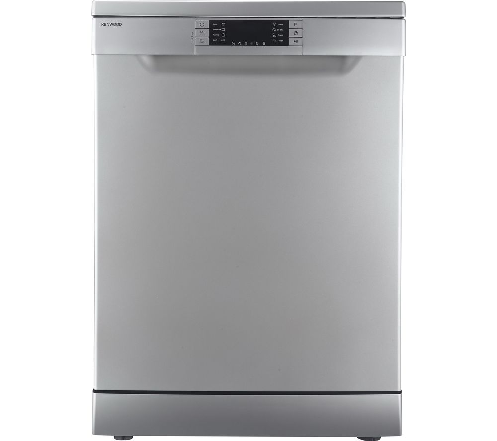 KENWOOD  KDW60S16 Full-size Dishwasher – Silver, Silver