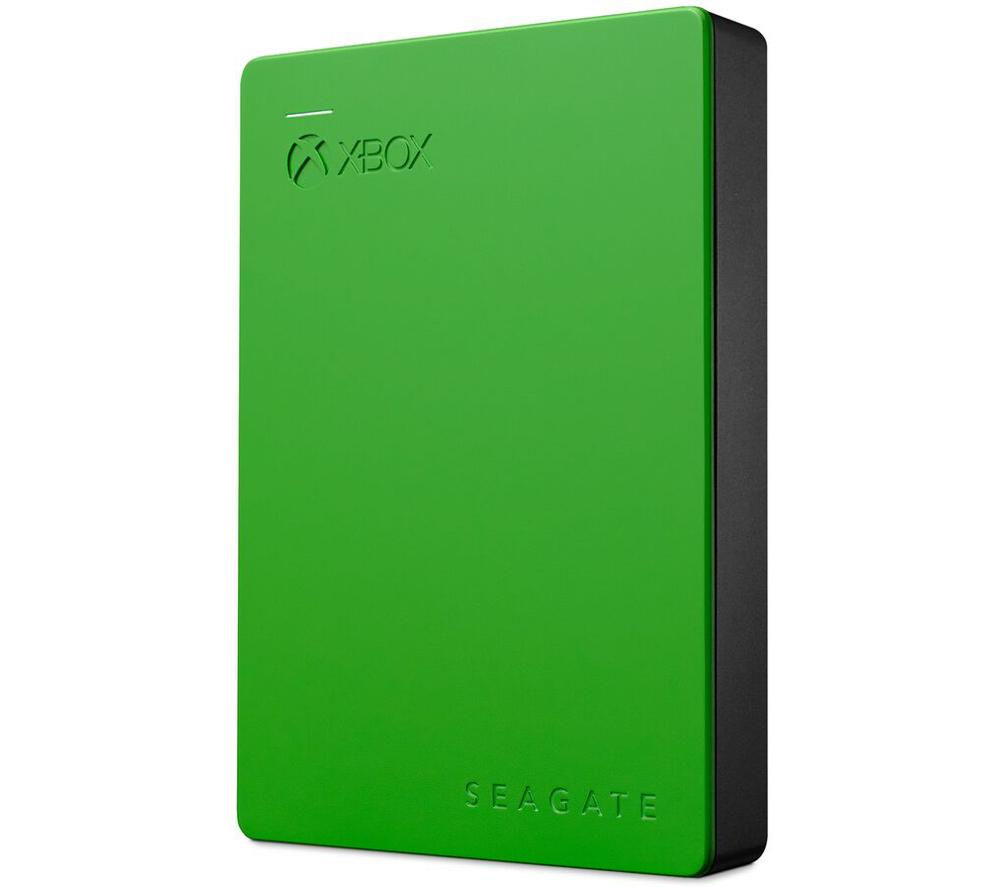 SEAGATE Gaming Portable Hard Drive for Xbox One - 4 TB, Green