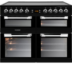 LEISURE Cuisinemaster CS100C510K 100 cm Electric Range Cooker - Black & Stainless Steel Best Price, Cheapest Prices