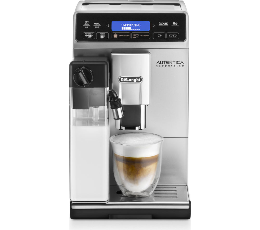 Compare retail prices of Delonghi Autentica Cappuccino ETAM29.660.SB Bean To Cup Coffee Machine to get the best deal online