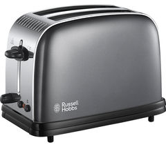 RUSSELL HOBBS Colours Plus 23332 2-Slice Toaster - Grey
