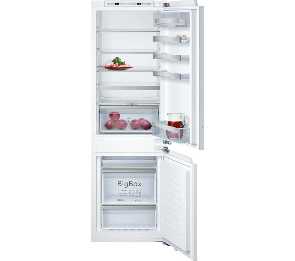 NEFF N70 KI7863D30G Integrated Fridge Freezer