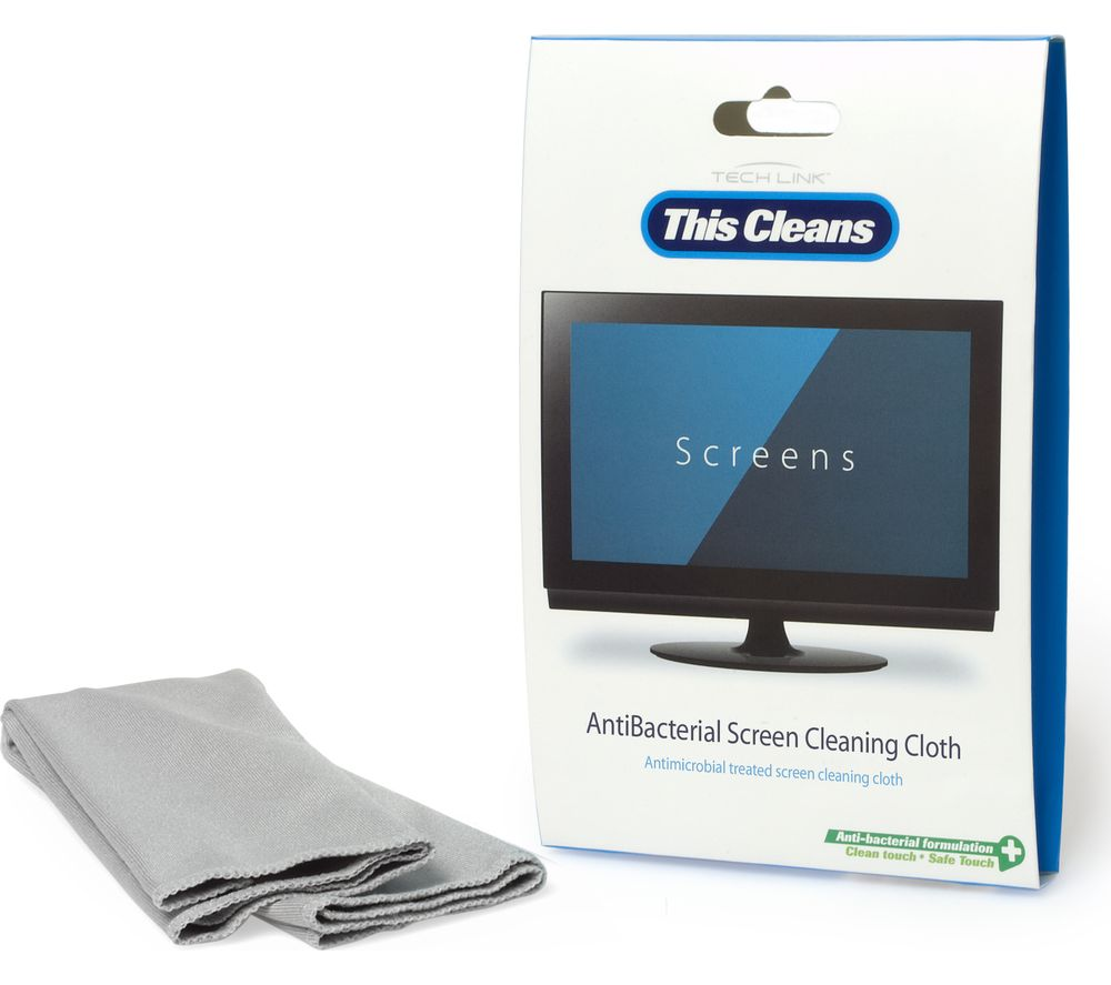 TECHLINK This Cleans Anti-Bacterial Screen Cleaning Cloth