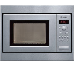 BOSCH Serie 2 HMT75M551B Built-in Solo Microwave - Stainless Steel