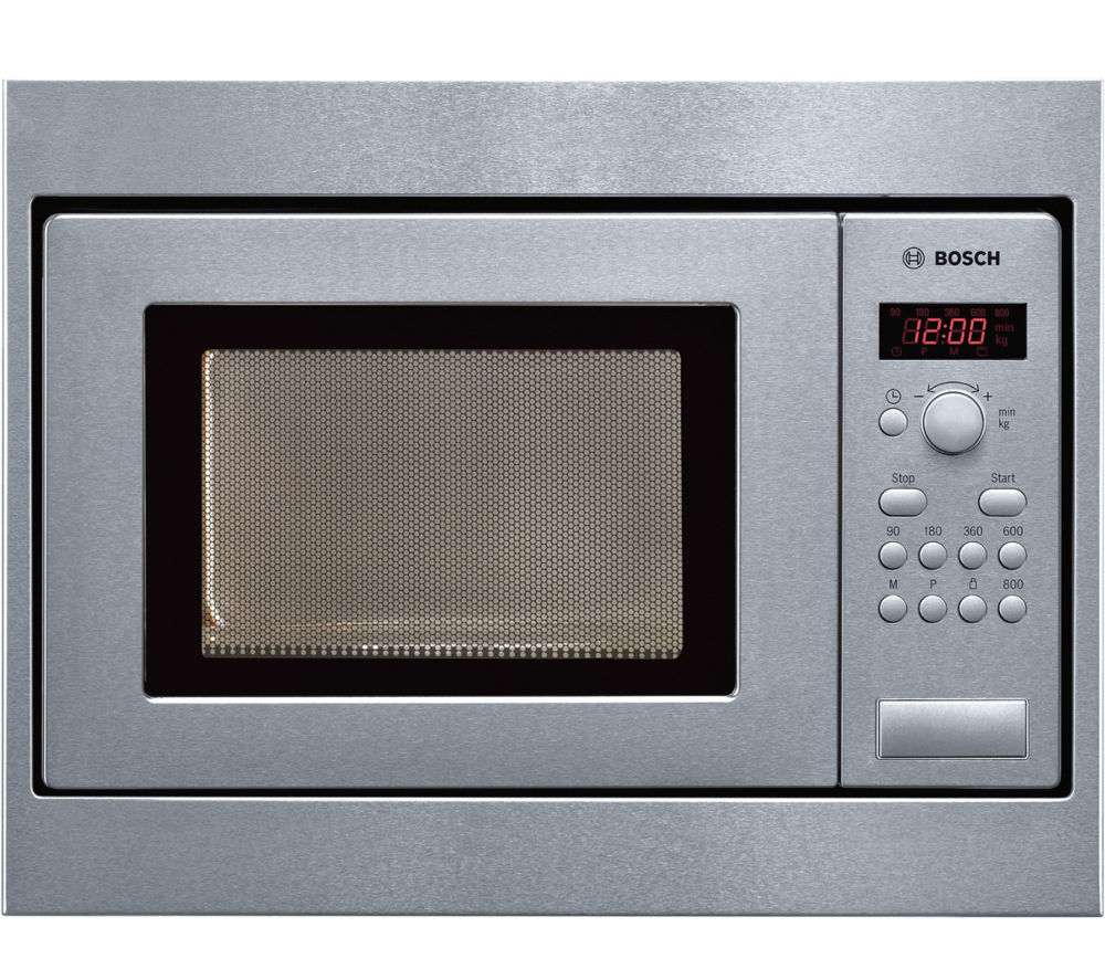 Bosch Hmt75m551b Built In Solo Microwave Stainless Steel
