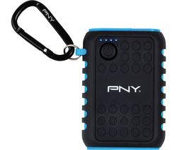 PNY Outdoor Charger Portable Power Bank - Black & Blue