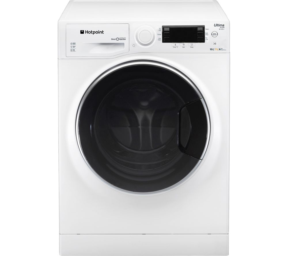 1a4c2296201b Buy HOTPOINT RD966JD UK Washer Dryer - White | Free Delivery | Currys