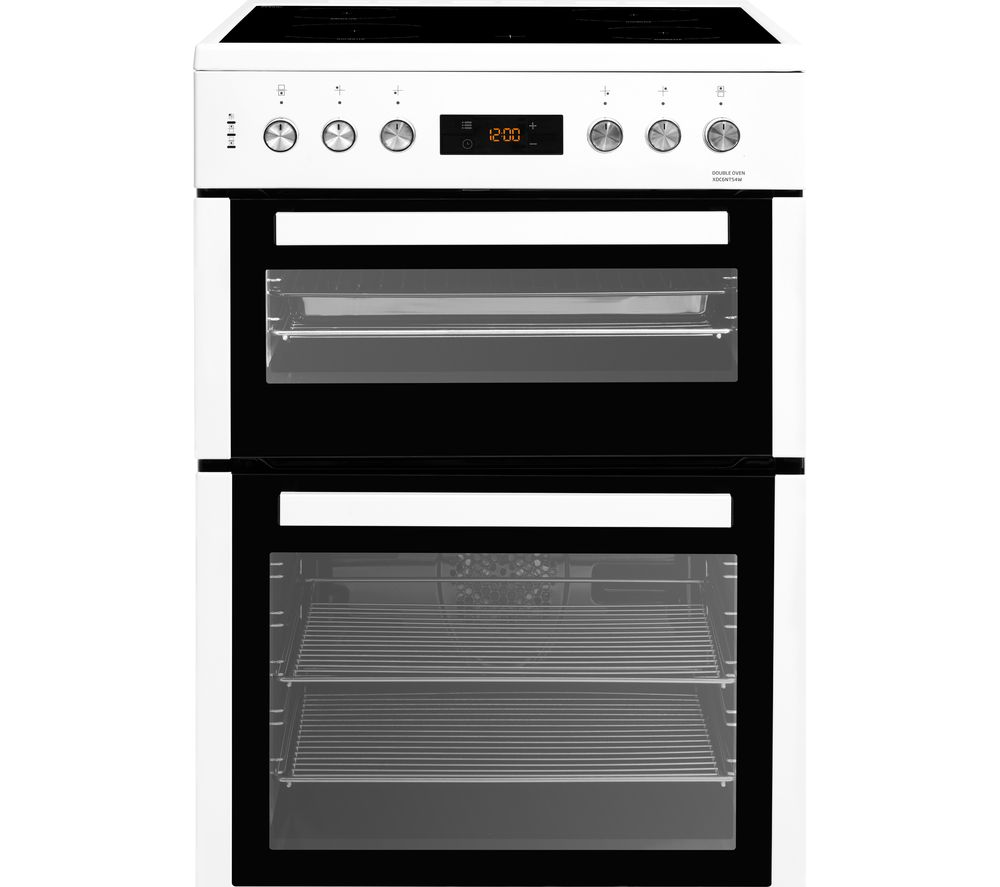 BEKO XDC6NT54W 60 cm Electric Ceramic Cooker - White