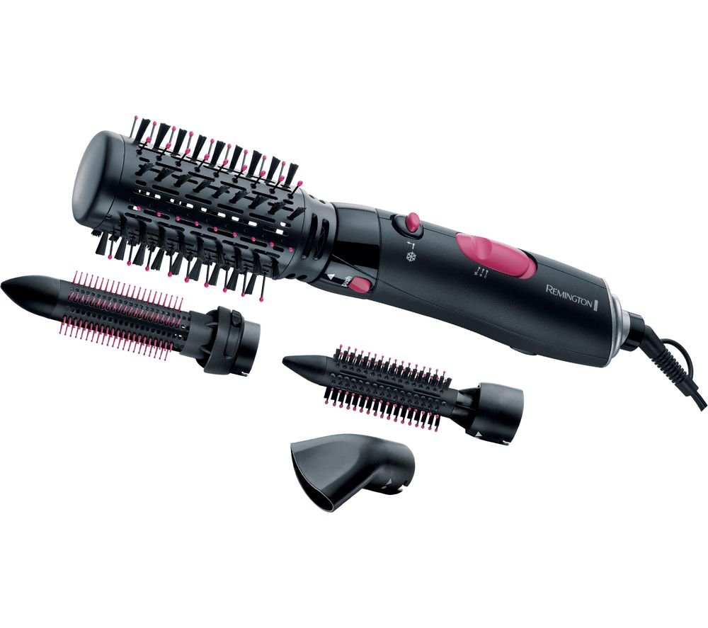 REMINGTON AS7051 Volume & Curl Air Styler - Black
