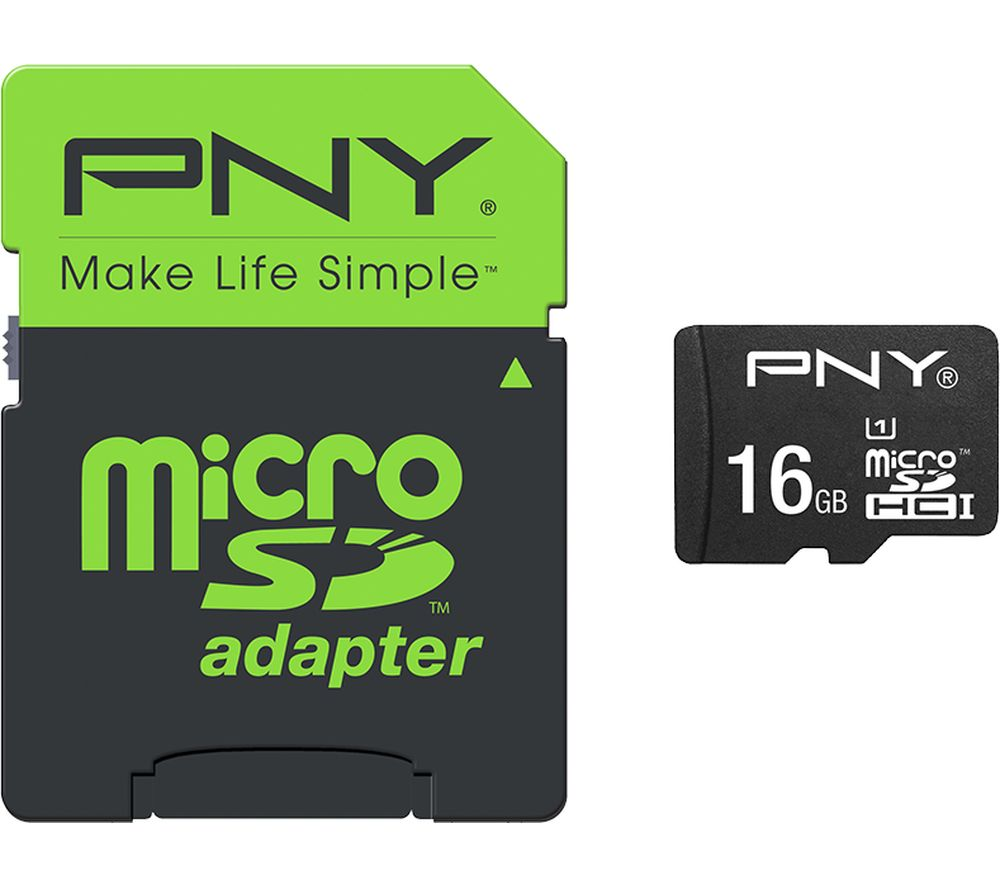 PNY High Performance Class 10 microSDHC Memory Card - 16 GB