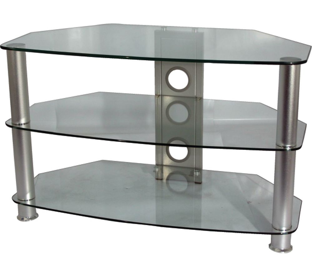 VIVANCO Brisa 800 C TV Stand - Clear