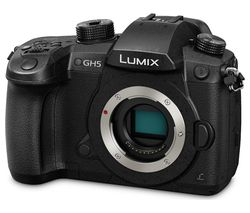 PANASONIC Lumix DC-GH5EB-K Mirrorless Camera - Black, Body Only