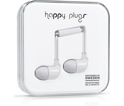 HAPPY PLUGS HP7726 Headphones - White