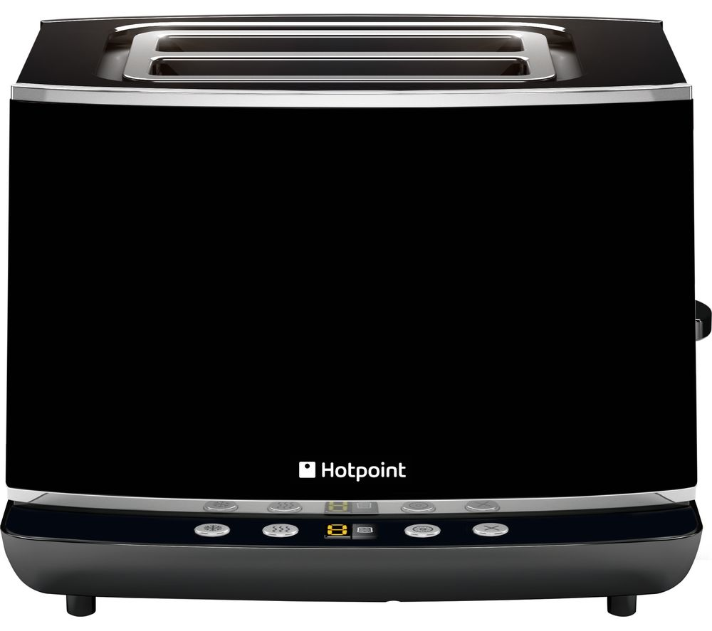 HOTPOINT TT 22E AB0 2-Slice Toaster - Black