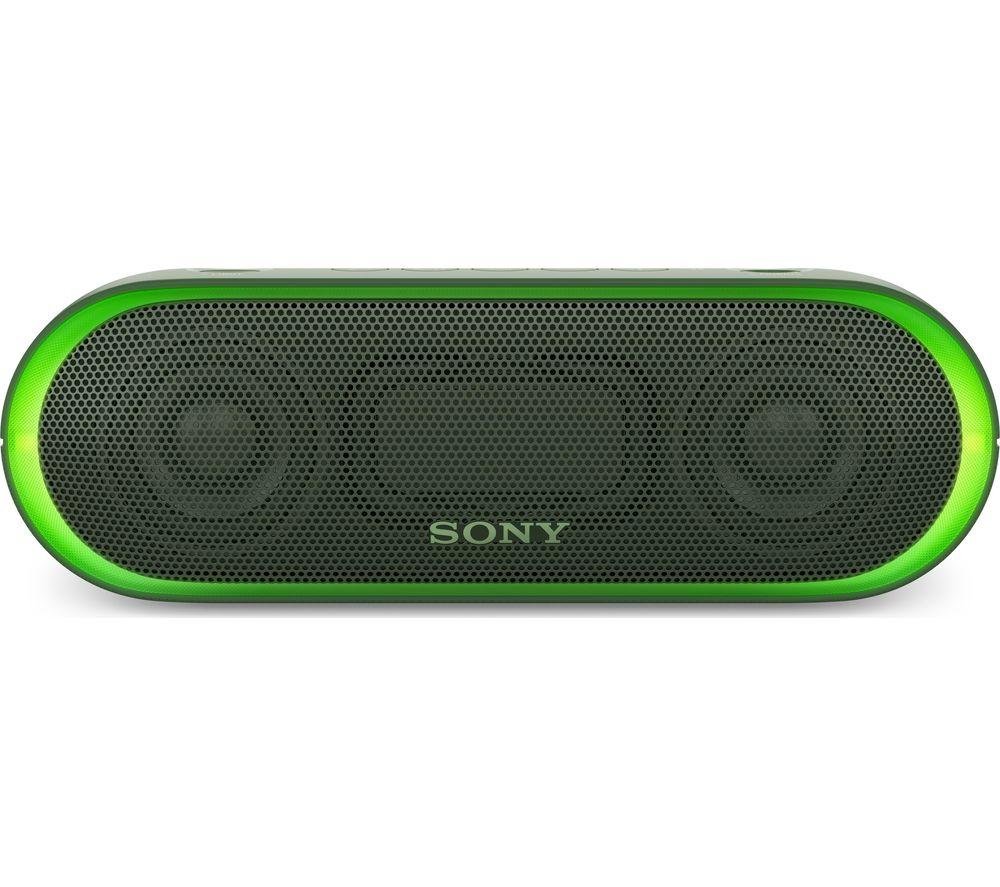SONY SRS-XB20 Portable Bluetooth Wireless Speaker - Green